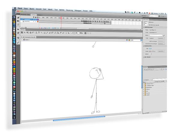 Strichmännchen, Animation