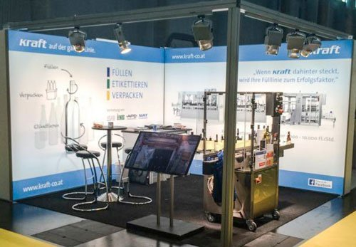 Corporate Design Messestand Gestaltung