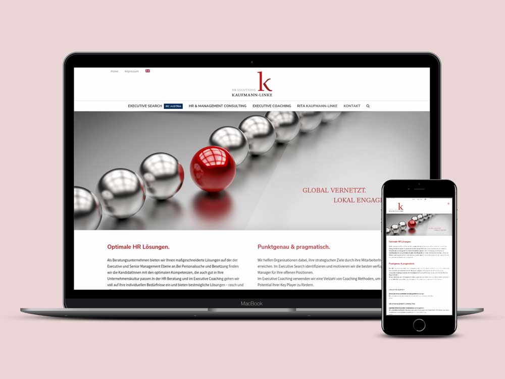 Webdesign für Rita Kaufmann-Linke