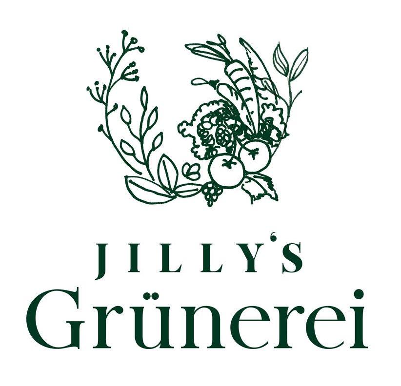 Logo Design für Jilly's Grünerei in Wien