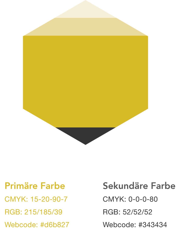 Logo Styleguide für Beecoat - Definition der Corporate Farbe und verwendete Schriftarten