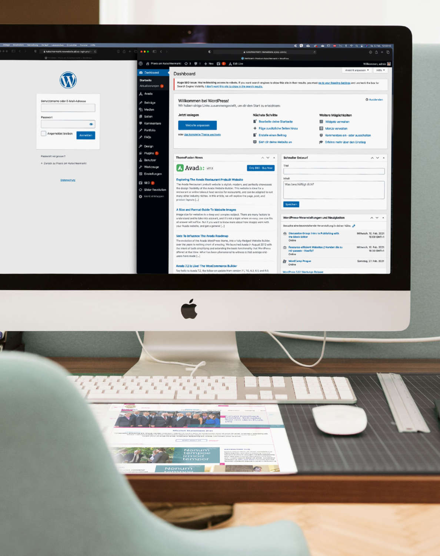 Wir entwickeln Ihre Website mit WordPress - Agentur für Webentwicklung in Wien