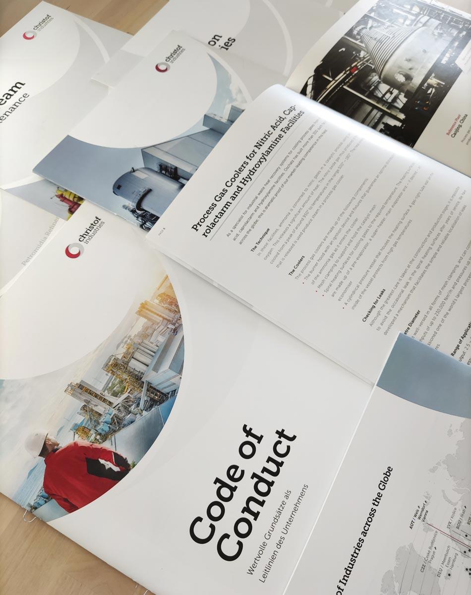 Corporate Design und grafische Gestaltung in Print