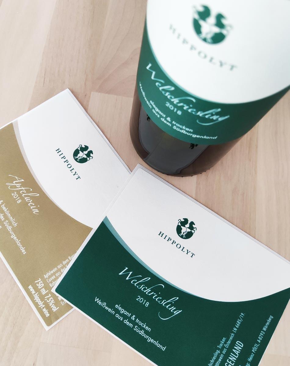 Gestaltung von Produkt-Etiketten und Verpackungen