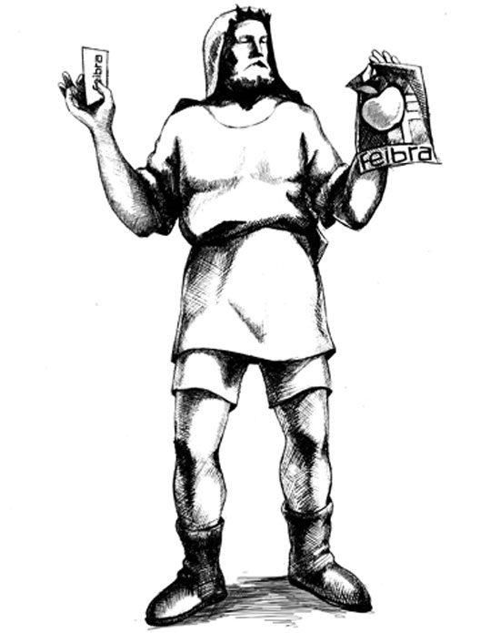 Illustration gezeichnet mit Bleistift