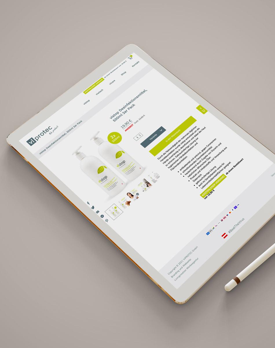 Individuelles Onlineshop-Design erstellen lassen