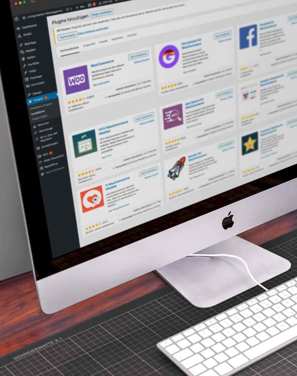 WordPress Website und Webentwicklung in Wien