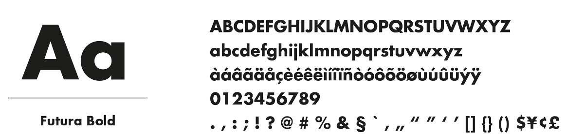 Typografie Eiswolf Patisserie in Wien