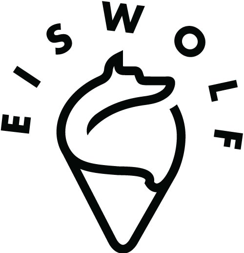 Logo Konzeption und Gestaltung für Patisserie Eiswolf in Wien